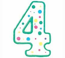 Nummer lys #4, Wilton