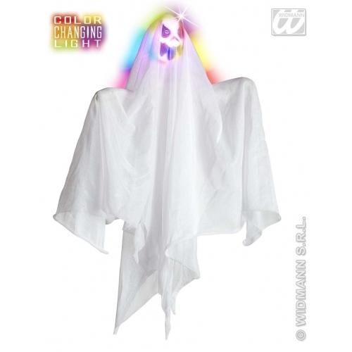 Spøkelse, fargeskiftende hode, 50cm