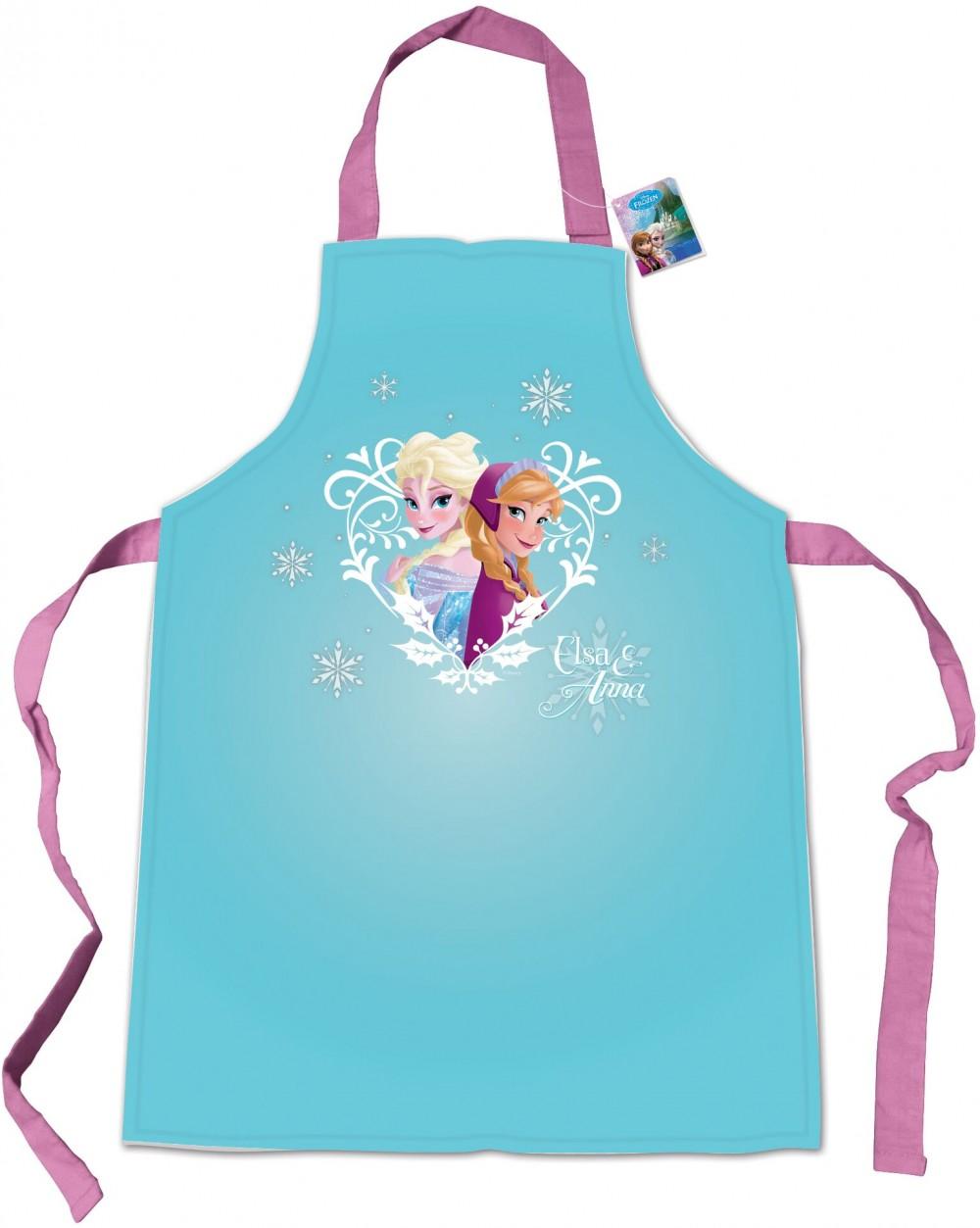 Kjøkkenforkle Frozen for barn