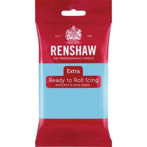 Babyblå fondant fra Renshaw, 250g