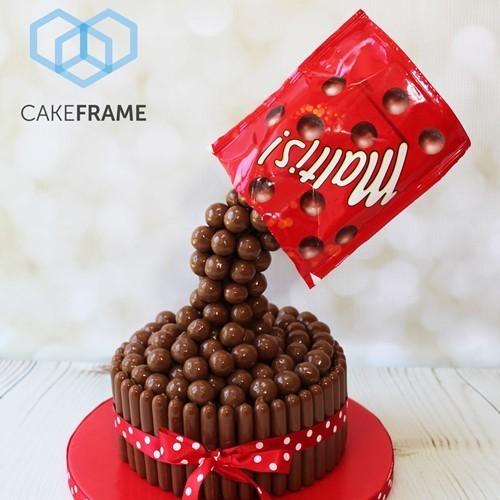 CakeFrame Pouring Kit -Sett for tømmekake-