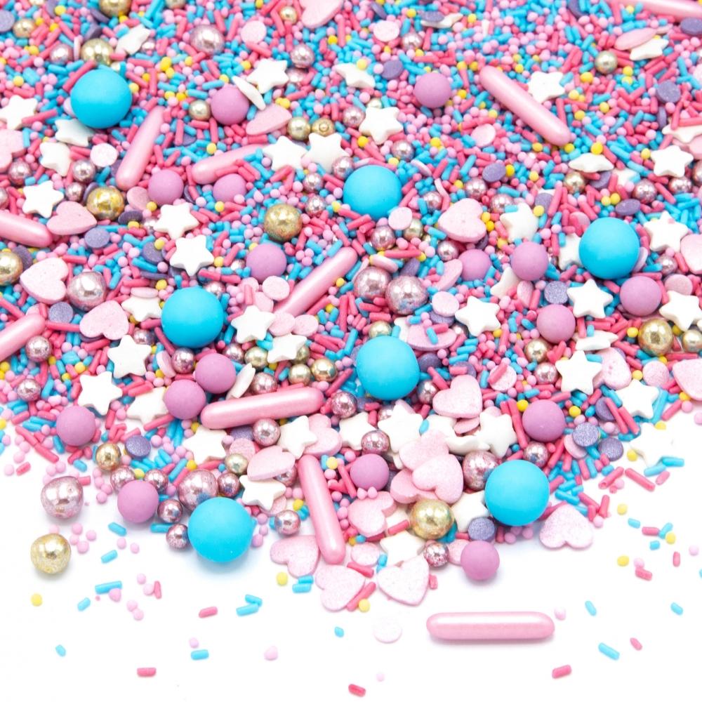 Happy Sprinkles Strøsselmiks - Cotton Candy 90g