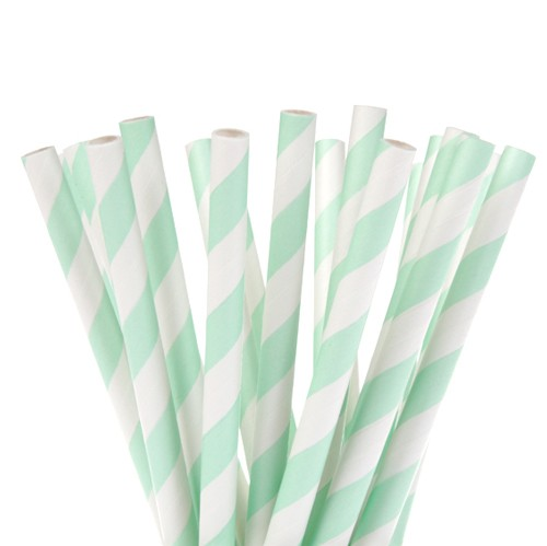 House of Marie Cake Pops pinner -Striper Mint- 20 stk