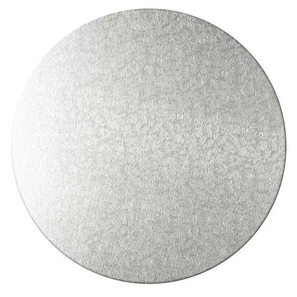Kakebrett rundt, 2pk, Sølv 40cm