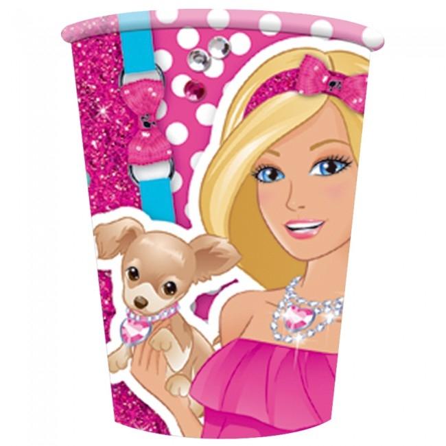Pappkopper -Barbie- pk/8