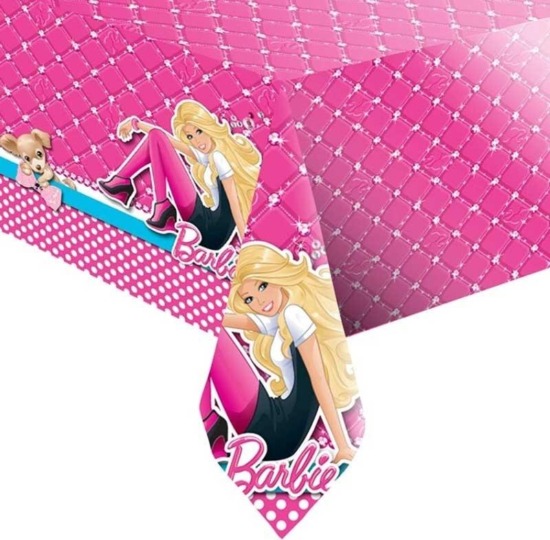 Plastduk -Barbie- 120x180 cm