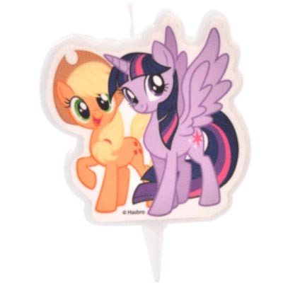 My Little Pony kakelys, Applejack og Twilight Sparkle