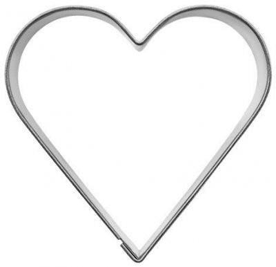 Pepperkakeform hjerte S - 5,5 cm