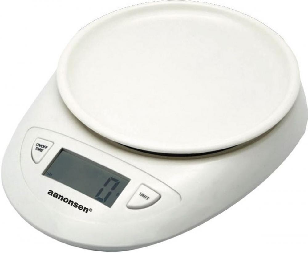 Aanonsen Kjøkkenvekt, digital 3kg/1gr