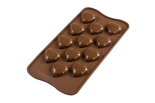 Silikomart konfektform hjerte -My Love-