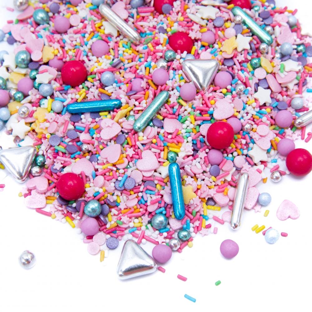 Happy Sprinkles Strøsselmiks - Colour up 90g