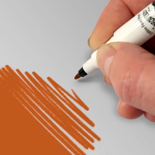 Food Art Pen spiselig tusj - Oransje