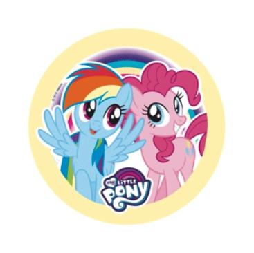 Kakebilde -Wafer- My Little Pony 20,5cm - nr4