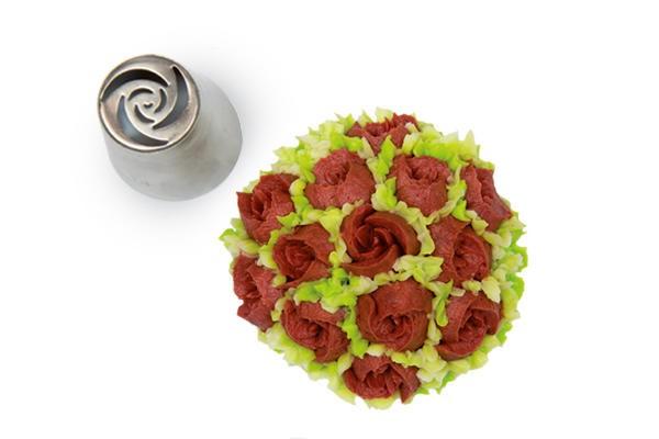 Silikomart sprøytetipp Blomster 11