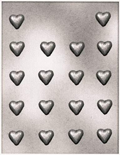 Silikomart sjokoladeform i plastikk -Små hjerter-