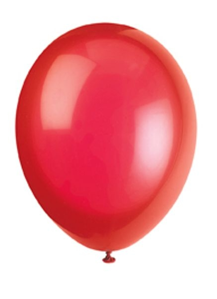 50 røde ballonger, scarlet red