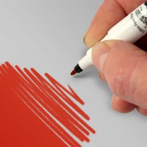 Food Art Pen spiselig tusj - Rød
