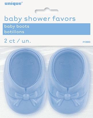 Baby sko, 2 stk blå