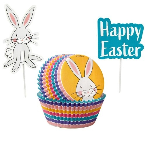 Wilton muffinsformer Combo Pack -Happy Easter- pk/24