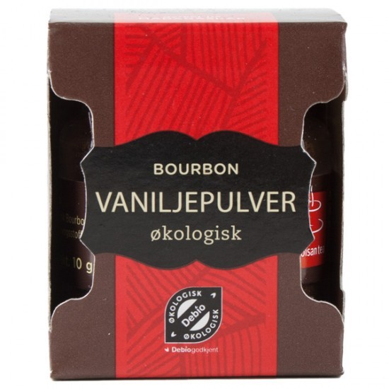 Vaniljepulver, Økologisk 10g