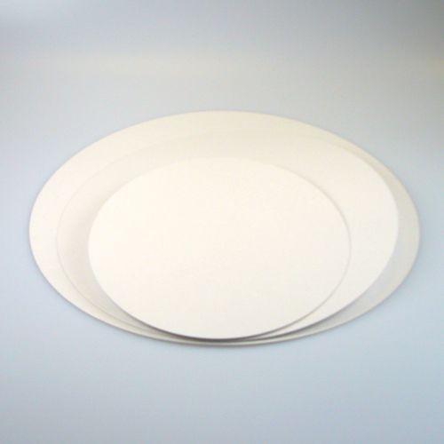 FunCakes kakeunderlag -Hvit- rund 26cm, 5stk
