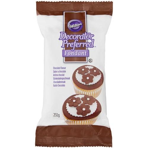 Wilton Brun fondant med sjokoladesmak, 250g