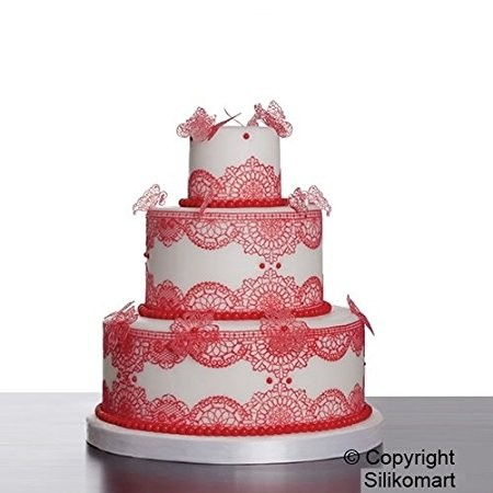 Silikomart Cake Lace silikonmatte -Chic-