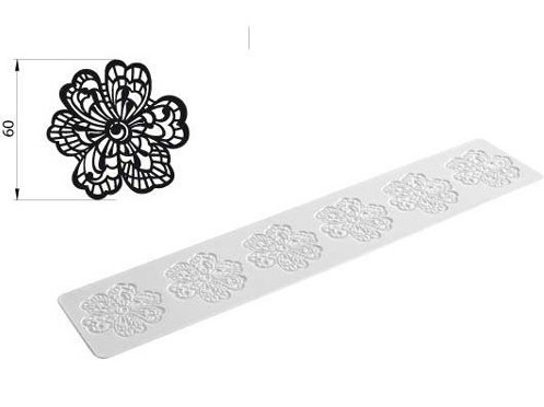 Silikomart Cake Lace silikonmatte -Blomster-