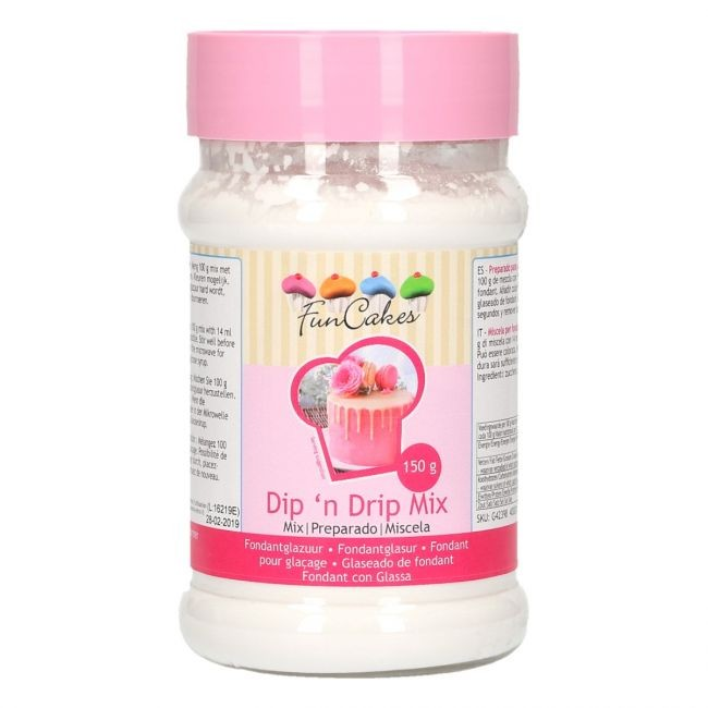 FunCakes Mix for Dip ´n Drip fondantglasur 150g