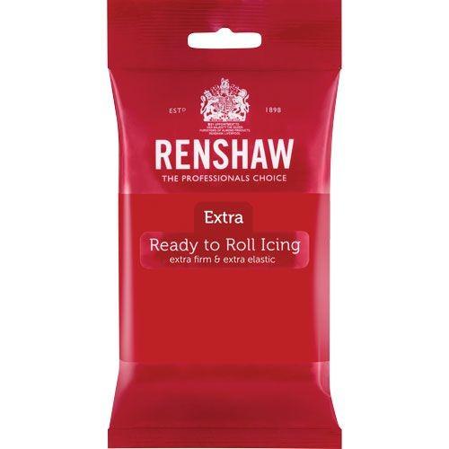 Rød fondant fra Renshaw, 250g