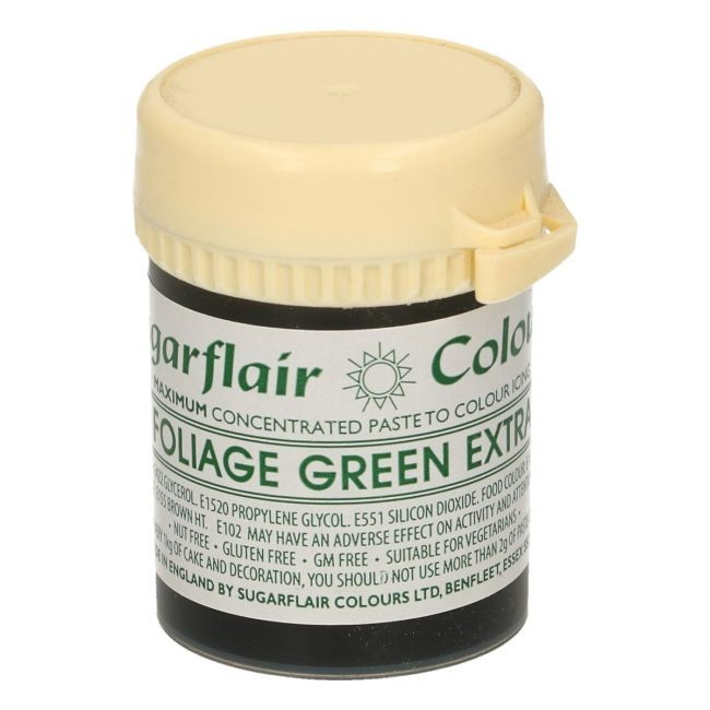 Sugarflair - Max Concentrate pastafarge Foliage Green, 42g