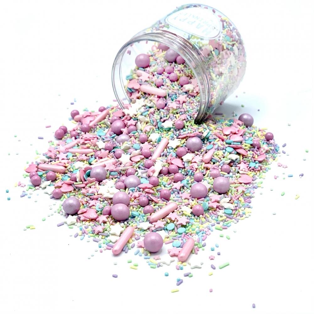 Happy Sprinkles Strøsselmiks - Pastel Vibes 90g
