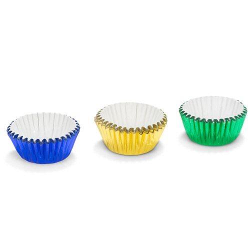 Patisse konfektformer i assorterte farger, 75stk