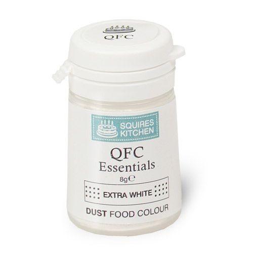 SK QFC pulverfarge Ekstra hvit, 8g