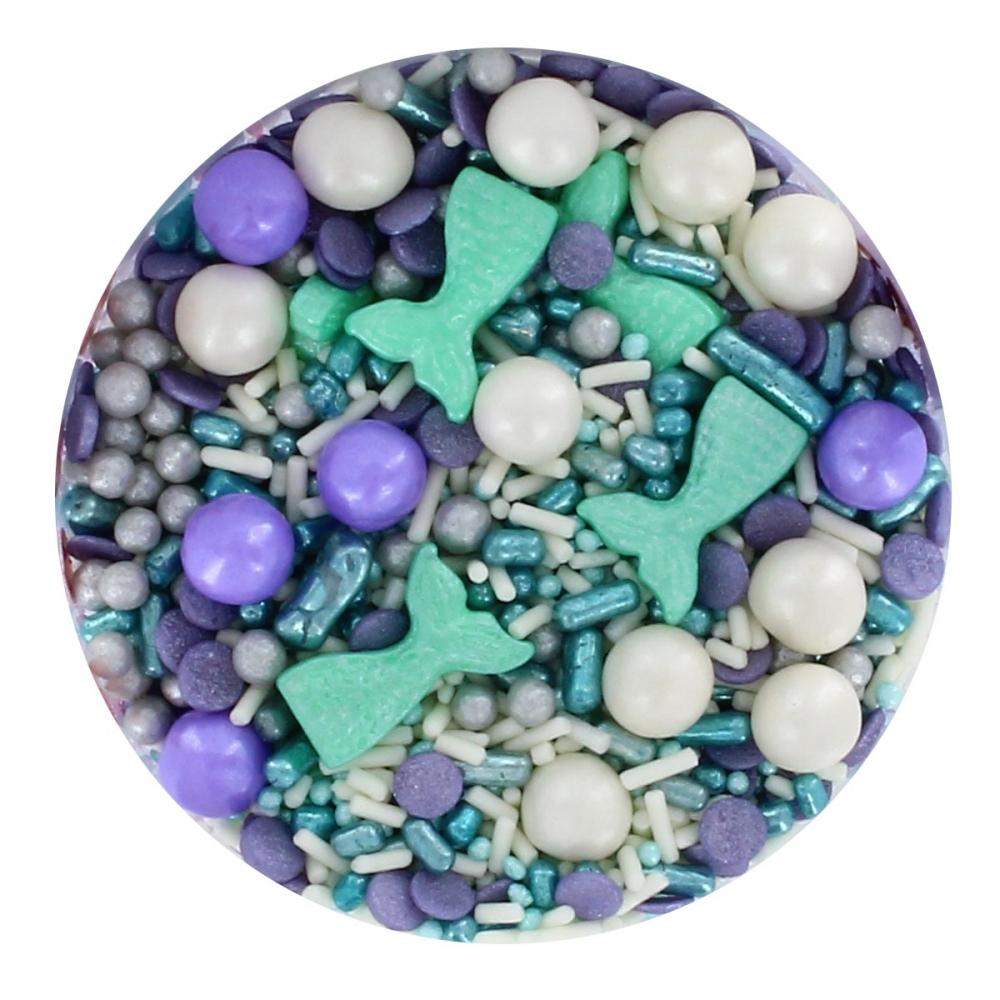 Purple Cupcakes Strøssel -havfrue- 90g
