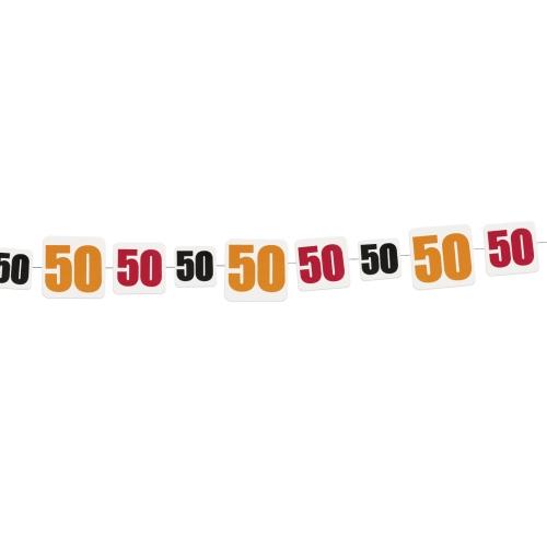 50årsdekor, ca 2,7 meter