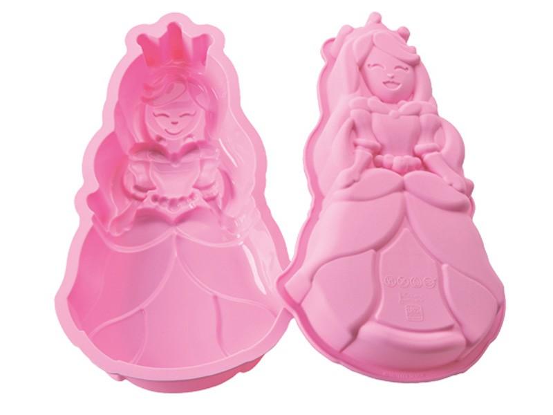 Kakeform Prinsesse, silikon, 28x15cm