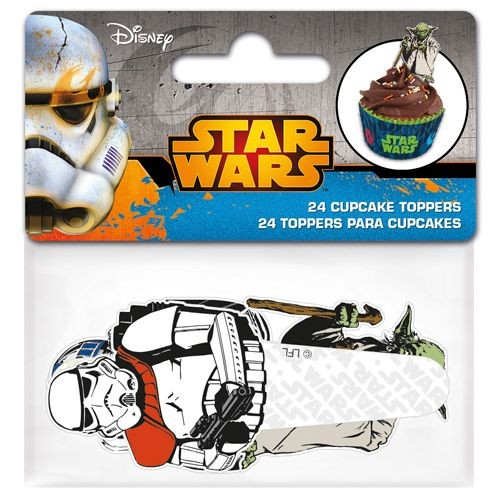 Cupcake figurpynt Star Wars 24stk
