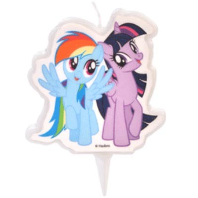 My Little Pony kakelys, Rainbow Dash og Twilight Sparkle