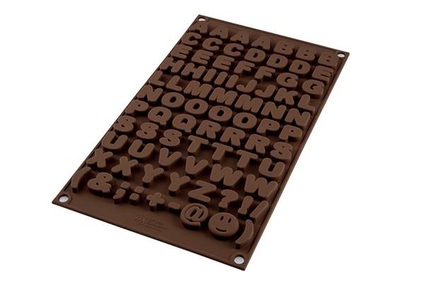 Silikomart Alfabetform i silikon