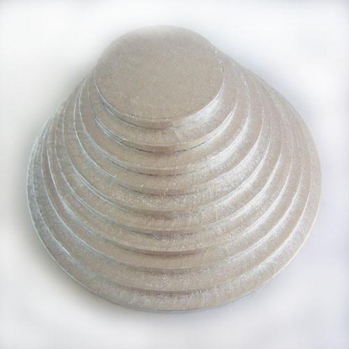 Kake Drum Rund Sølv - 50,5cm