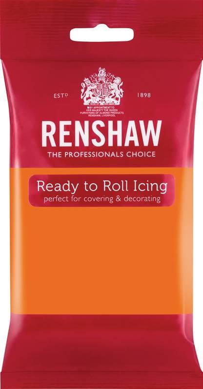 Oransje fondant fra Renshaw, 250g