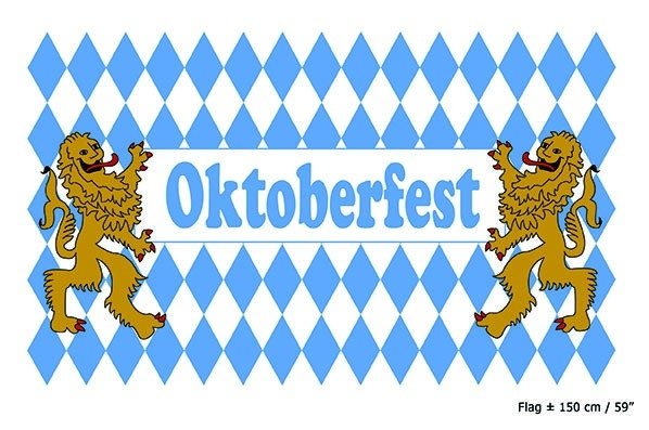 Flagg Oktoberfest 90x150cm