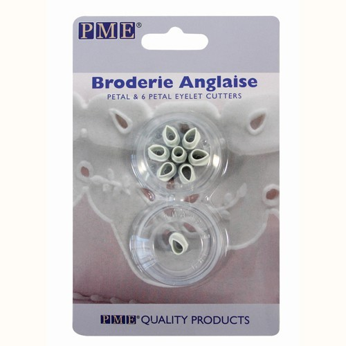 PME Broderie Anglaise Single & 6 Petal Eyelet Cutters
