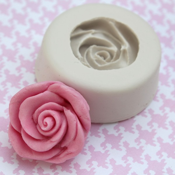 Silikon mold Rose Stor