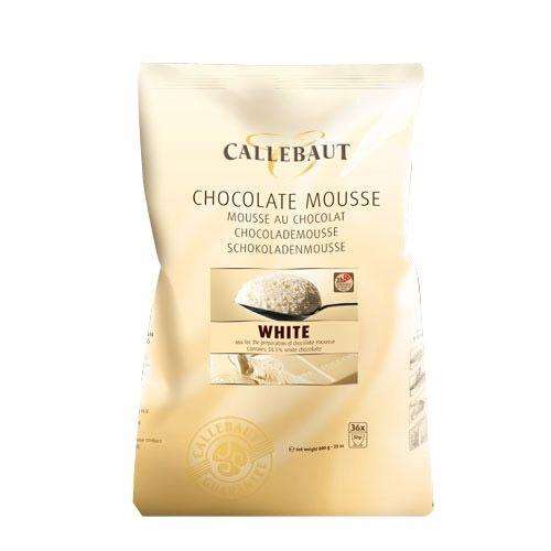Callebaut Hvit Sjokolademousse, 800g