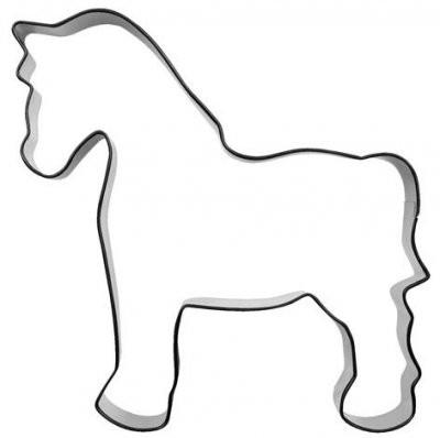 Pepperkakeform hest stor 2 - 10 cm