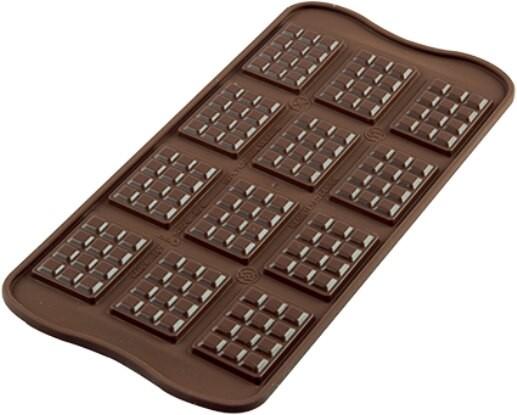 Silikomart silikonform mini-sjokoladeplater