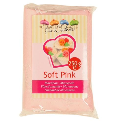 Lys rosa marsipan fra FunCakes, 250g