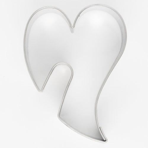 Pepperkakeform Dekorativt Hjerte 5,5cm